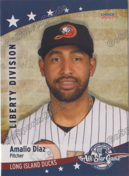 2017 Atlantic League All Star Liberty Amalio Diaz