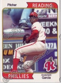 2007 Reading Phillies #6 Anderson Garcia