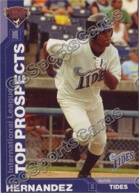 2006 International League Top Prospects Choice Anderson Hernandez