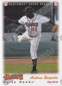 2010 Boise Hawks Andres Quezada