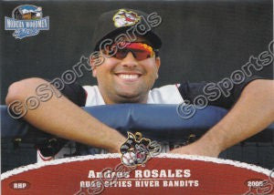 2009 Quad Cities River Bandits Andres Rosales