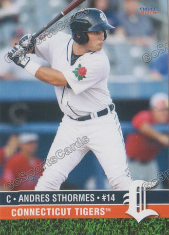 2016 Connecticut Tigers Andres Sthormes