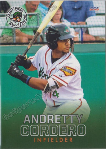 2018 Down East Wood Ducks Andretty Cordero