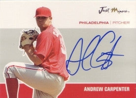Andrew Carpenter 2007 Just Minors Just Autographs #8 (Autograph)