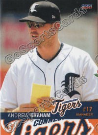 2011 Connecticut Tigers Andrew Graham