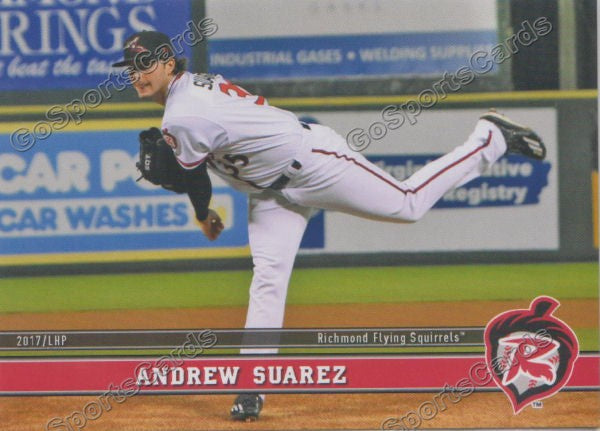 2017 Richmond Flying Squirrels Andrew Suarez