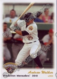 2010 Bradenton Marauders Andrew Walker