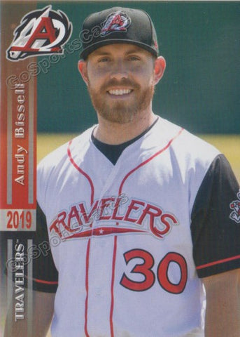 2019 Arkansas Travelers Andy Bissell