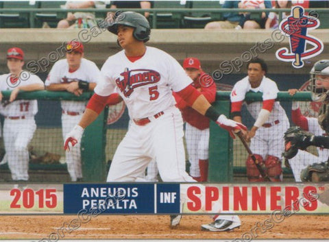 2015 Lowell Spinners Aneudis Peralta