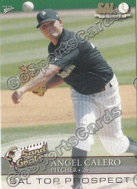 2008 South Atlantic League Top Prospects Angel Calero