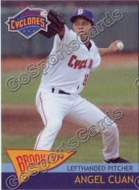 2010 Brooklyn Cyclones Angel Cuan