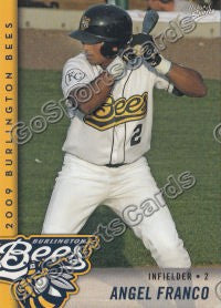 2009 Burlington Bees Angel Franco
