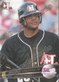 2007 South Atlantic League Top Prospects Angel Gonzalez