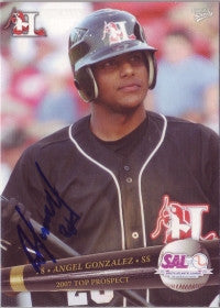 Angel R. Gonzalez 2007 SAL South Atlantic League Top Prospect (Autograph)