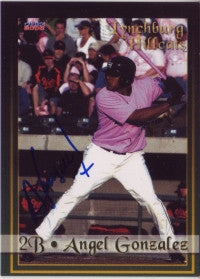 Angel R. Gonzalez 2008 Choice Lynchburg Hill Cats #07 (Autographs)