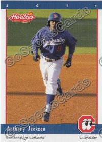 2011 Chattanooga Lookouts Anthony Jackson