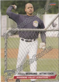 2008 Mahoning Valley Scrappers Anthony Medrano