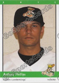 2011 Clinton LumberKings Anthony Phillips