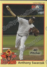 2010 Rochester Red Wings DAV Anthony Swarzak