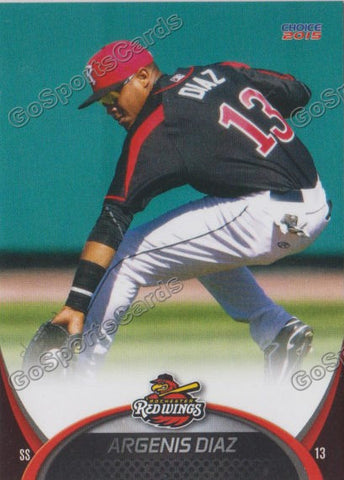 2015 Rochester Red Wings Argenis Diaz