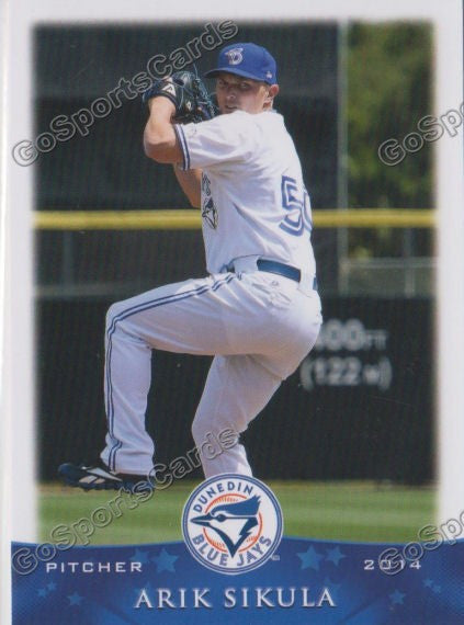 2014 Dunedin Blue Jays Team Set