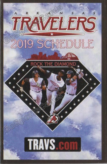 2019 Arkansas Travelers Pocket Schedule