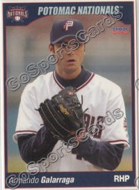 2005 Potomac Nationals Armando Galarraga