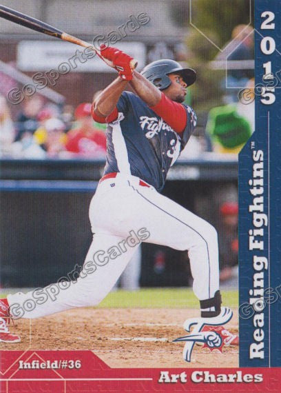 2015 Reading Fightin Phils Update Art Charles