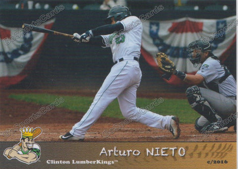 2016 Clinton LumberKings Arturo Nieto