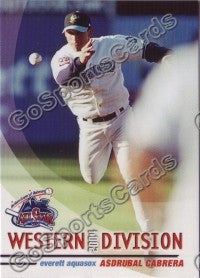 2004 GrandStand Northwest League All Star Asdrubal Cabrera