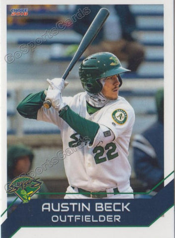 2018 Beloit Snappers Austin Beck