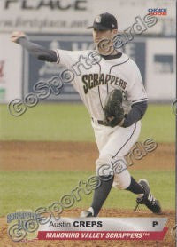 2008 Mahoning Valley Scrappers Austin Creps