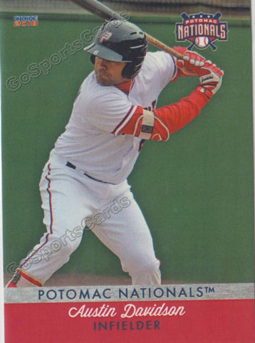 2018 Potomac Nationals Austin Davidson