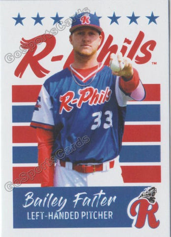 2019 Reading Fightin Phils U3 Bailey Falter
