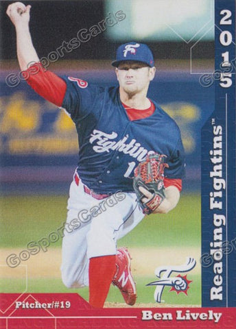 2015 Reading Fightin Phils Update Ben Lively