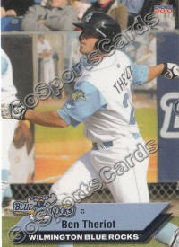 2010 Wilmington Blue Rocks Ben Theriot