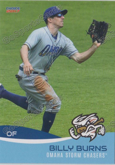 2017 Omaha Storm Chasers Billy Burns