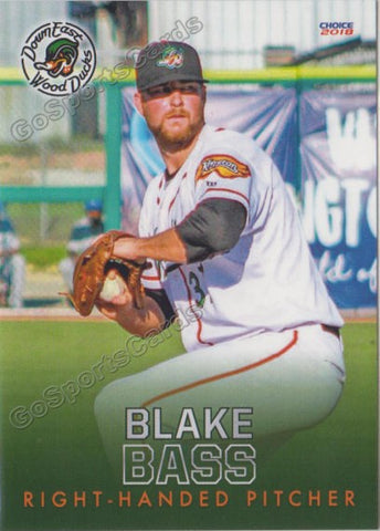 2018 Down East Wood Ducks Blake Bass