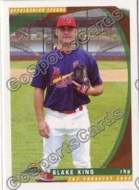 2006 Appalachian League Top Prospects Blake King