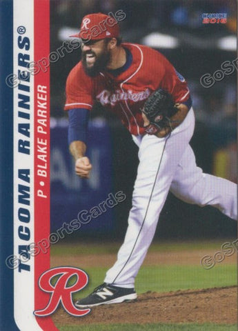 2016 Tacoma Rainiers Team Set