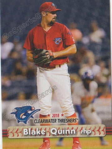 2018 Clearwater Threshers Blake Quinn