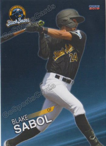 2019 West Virginia Black Bears Blake Sabol