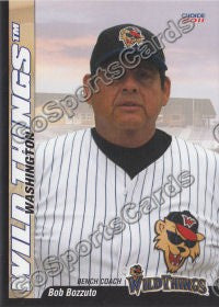 2011 Washington Wild Things Bob Bozzuto