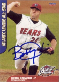 Bobby Brownlie 2007 Atlantic League All Star (Autograph)