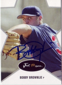 Bobby Brownlie 2003 Just Minors Stars #6 (Autograph)