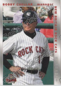 2008 New Britain Rock Cats Bobby Cuellar