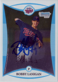 Bobby Lanigan 2008 Bowman Chrome Draft Picks (Autograph)