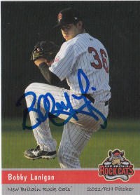 Bobby Lanigan 2011 New Britain Rock Cats (Autograph)