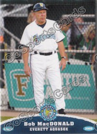 2009 Everett AquaSox Bob MacDonald