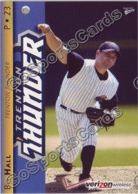 2008 Trenton Thunder Bo Hall